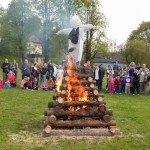 Palení čarodějnic 2015 hasiči Zubří  0182