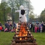 Palení čarodějnic 2015 hasiči Zubří  0183