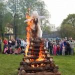 Palení čarodějnic 2015 hasiči Zubří  0184