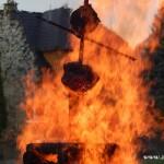 Palení čarodějnic 2015 hasiči Zubří  0189