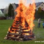 Palení čarodějnic 2015 hasiči Zubří  0190