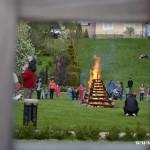 Palení čarodějnic 2015 hasiči Zubří  0207