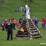 Palení čarodějnic 2015 hasiči Zubří  0219
