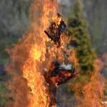 Palení čarodějnic 2015 hasiči Zubří  0221