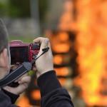 Palení čarodějnic 2015 hasiči Zubří  0223