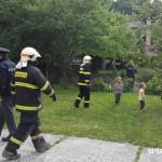 Cvičná evakuace MŠ duha Zubří 2015   0002