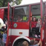 Cvičná evakuace MŠ duha Zubří 2015   0014