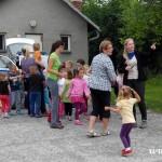Cvičná evakuace MŠ duha Zubří 2015   0018