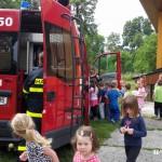 Cvičná evakuace MŠ duha Zubří 2015   0020