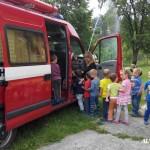 Cvičná evakuace MŠ duha Zubří 2015   0021