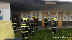 Požár budovy ČD V Zubří 20150004