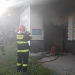 Požár budovy ČD V Zubří 20150007