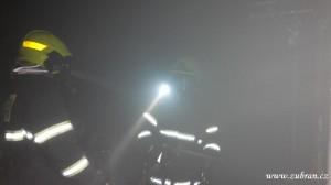 Požár budovy ČD V Zubří 20150010