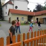 Ukončení výuky náboženství 15. 6. 2015 na faře v Zubří    0009