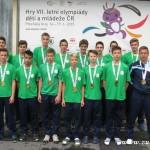 Nečekaný úspěch házenkářů Zlínského kraje na letní olympiádě v Plzni 2015   0104