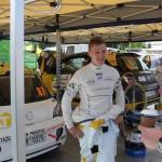Posadka Kamenec-Jurka obsadili 1.misto v Opel Adam Cupu na Rally Bohemia 2015   0018