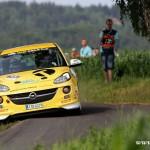 Posadka Kamenec-Jurka obsadili 1.misto v Opel Adam Cupu na Rally Bohemia 2015   0022