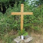 Nový kříž na červené trase