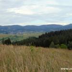 Veřovské vrchy a Zubří ze Spiny