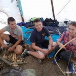 Zuberský tábor ve Stříteži nad Bečvou 2015 TROSEČNÍCI taborovy 0278