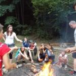 Zuberský tábor ve Stříteži nad Bečvou 2015 TROSEČNÍCI taborovy 0410