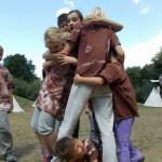 Zuberský tábor ve Stříteži nad Bečvou 2015 TROSEČNÍCI taborovy 0592