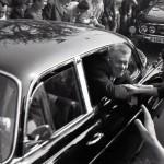 srpen 1968 v Brně - vládní delegace - ministr Smrkovský