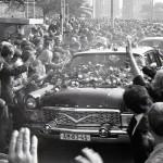 srpen 1968 v Brně - vládní delegace - prezidentské auto