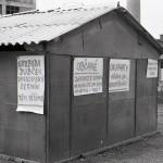 srpne 1968 v Zubří - Gumárny - poblíž vrátnice