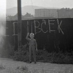 srpne 1968 v Zubří - chodník u fotbalového hřiště