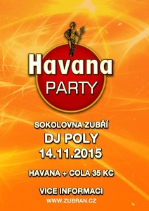 havana party plakát