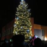 Rozsvěcení vánočního stromečku v Zubří 2015 0006