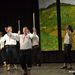Valašský soubor písní a tanců Beskyd radost na dědině v Zubří 2015 0073