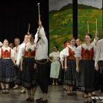 Valašský soubor písní a tanců Beskyd radost na dědině v Zubří 2015 0078