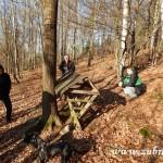 Zdobení vánočního stromečku pro zvířátka v Lipůvce 20160001