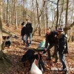 Zdobení vánočního stromečku pro zvířátka v Lipůvce 20160013