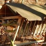 Zdobení vánočního stromečku pro zvířátka v Lipůvce 20160016