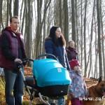 Zdobení vánočního stromečku pro zvířátka v Lipůvce 20160018