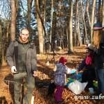 Zdobení vánočního stromečku pro zvířátka v Lipůvce 20160032