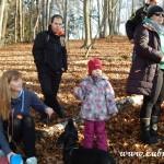 Zdobení vánočního stromečku pro zvířátka v Lipůvce 20160038