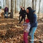 Zdobení vánočního stromečku pro zvířátka v Lipůvce 20160043