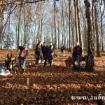 Zdobení vánočního stromečku pro zvířátka v Lipůvce 20160044