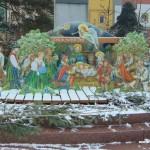 Betlém na rožnovském náměstí 1