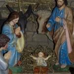 Betlém v kostele Navštívení Panny Marie v Zašové 1