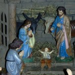 Betlém v kostele Navštívení Panny Marie v Zašové 2