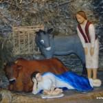 Betlém v kostele Všech svatých v Rožnově 1