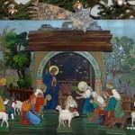 Betlém v kostele sv. Cyrila a Metoděje ve Vidči 1