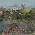 Betlém v kostele sv. Kateřiny Alexandrijské v Zubří 1
