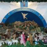 Betlém v kostele sv. Václava v Brumově 1