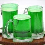 Zelené pivo zelený čtvrtek